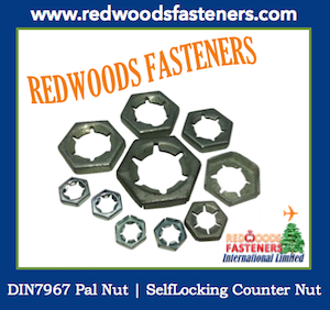 Pal Nut, SelfLocking Counter Nut