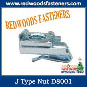 J Type Nut D8001