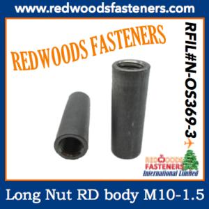 N-OS369-3 Round Nut Long Body