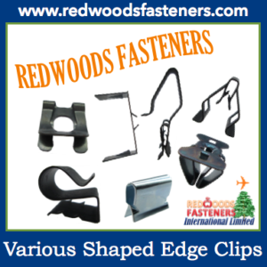 Various Shaped Edge Clips