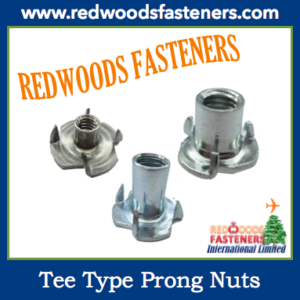 Tee Type Prong Nuts