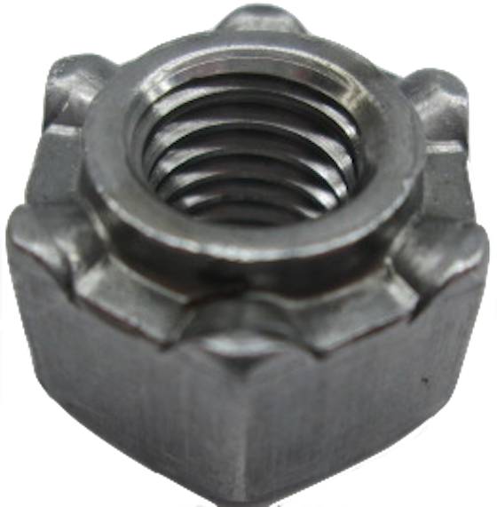 N-OHW646-1 Collared Hexagon Weld Nut
