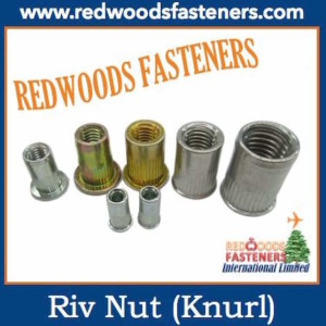 Rivet Nut with knurl