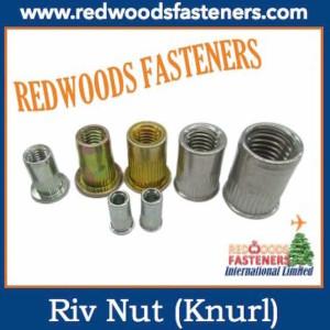 Rivet Nut with knurl